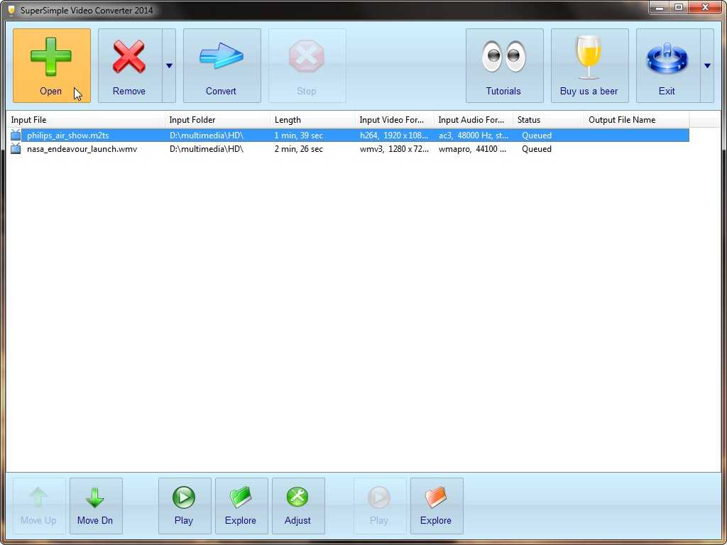 Software audio dan video converter paling ringan dan simple